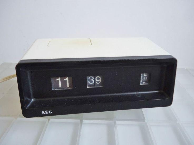 1000 digital wecker pinterest aeg tischuhr wecker digital typ swd flip clock alarm panton space age 70er jahre fandeluxe Gallery