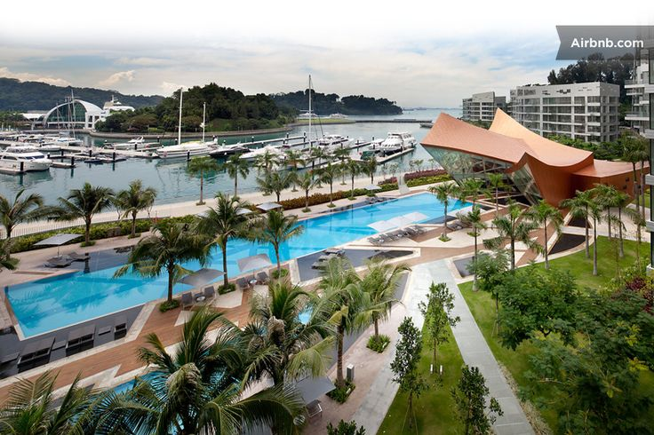 Sentosa WaterFront with Pooltable in Singapore1847