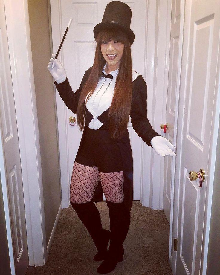 """My name is Zatanna Zatara. I'm a spellaholic."" Tags: Zatanna, injustice, DC superheroes, comic book character, Batman, mistress of magic, magician, super powers, women's costumes, Halloween, cosplay"