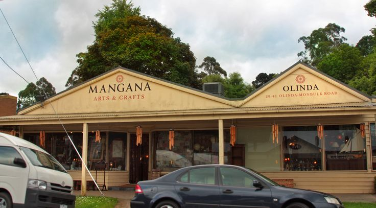 "One of the best shops in the Dandenong ranges ""Mangana Crafts"" Olinda, Victoria"
