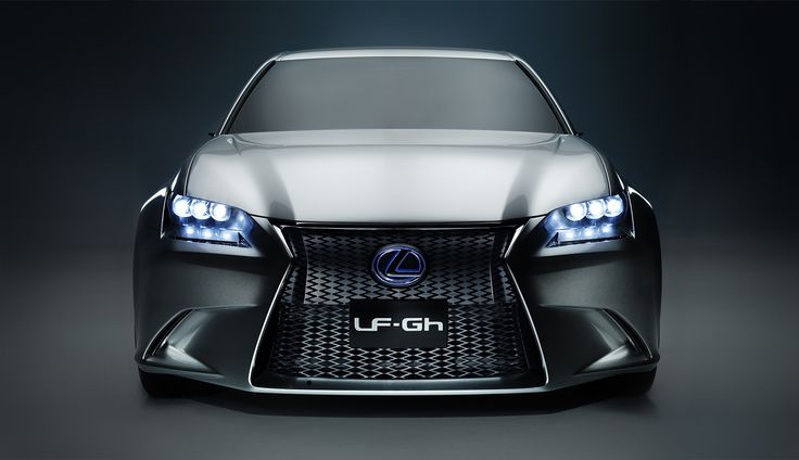 #Lexus #LF-Gh #ConceptCar #Future #Style #Fashion #Car