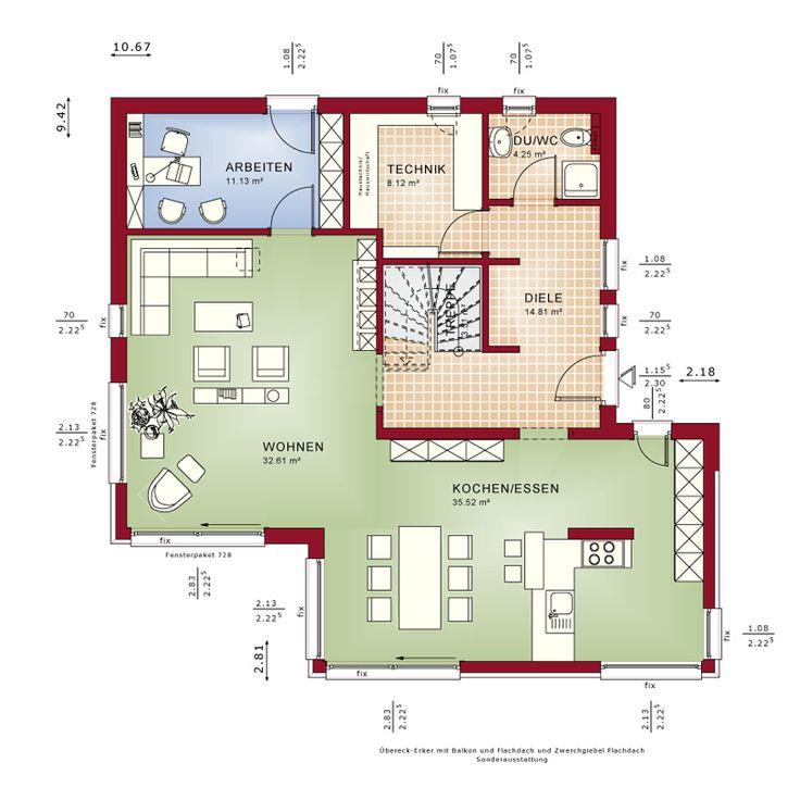 168 besten haus bilder auf pinterest architektur arquitetura und fassaden. Black Bedroom Furniture Sets. Home Design Ideas