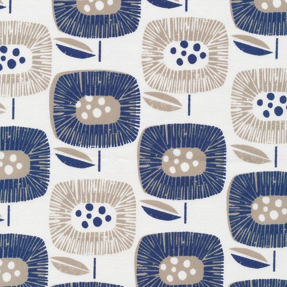 The new 'Block Blooms' design by Skinny laMinx. From the Around The Block collection for Cloud9 Fabrics.
