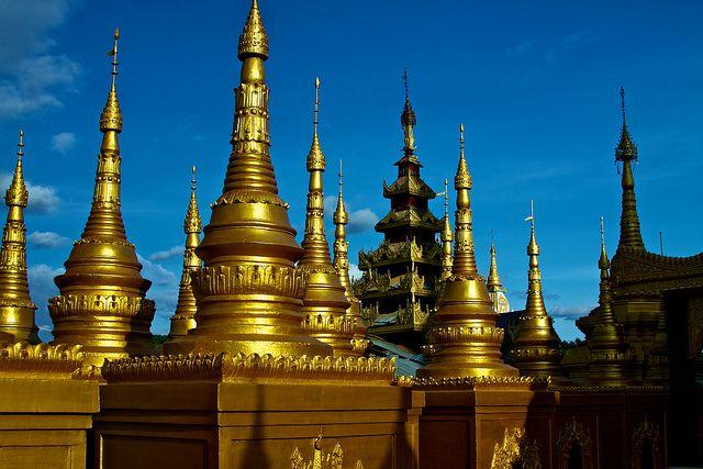 Bodhi Tataung in Monywa, a city in Northern Burma