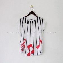Muzique Tees - Red
