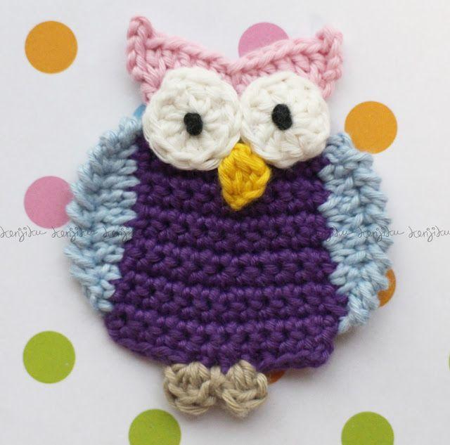KENJIKU let the crochet talk: OWL oh OWL ....
