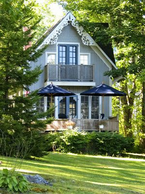 Sharon Lovejoy-I can picture us eating supper out on this little porch in Bayside, Maine.