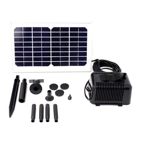 5 Watt Solar Powered Fountain Pond Pump Gardening Pinterest Gardens Yard Art And Garden