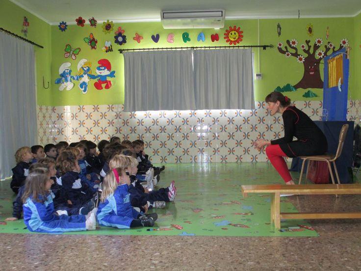 Cuentacuentos en la Escuela Infantil