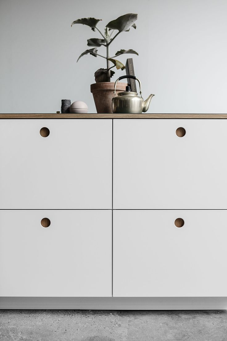 Ikea kitchens hittarp landhausstil kueche - Reform A Danish Architects Ikea Hack