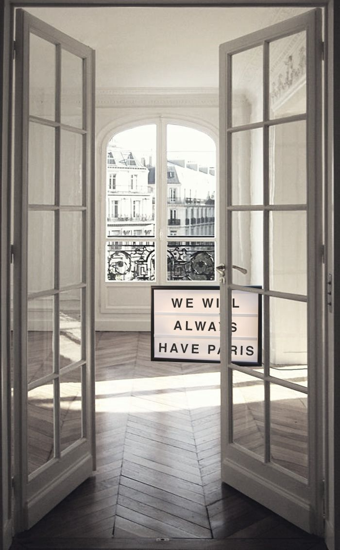 "Always be reminded of your parisian memories with this ""We will always have Paris"" light box10%off ends tomorrow! Code: XMAS10www.bxxlght.com"