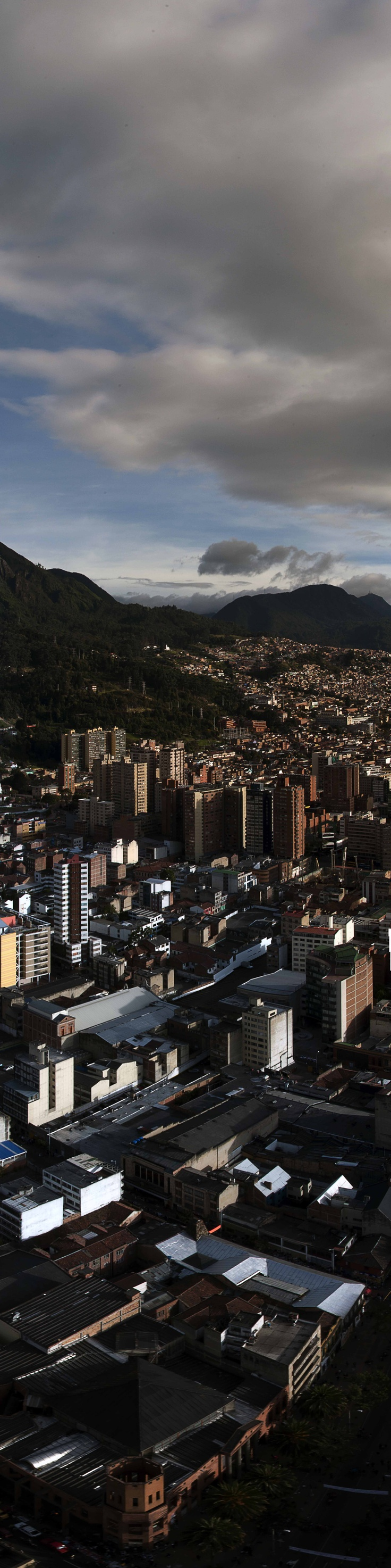 Bogota - City meets mountains