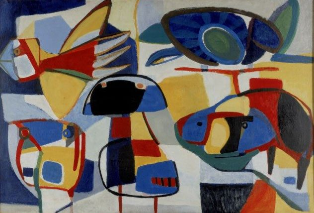 46 best karel appel e a images on pinterest abstract for Courant artistique