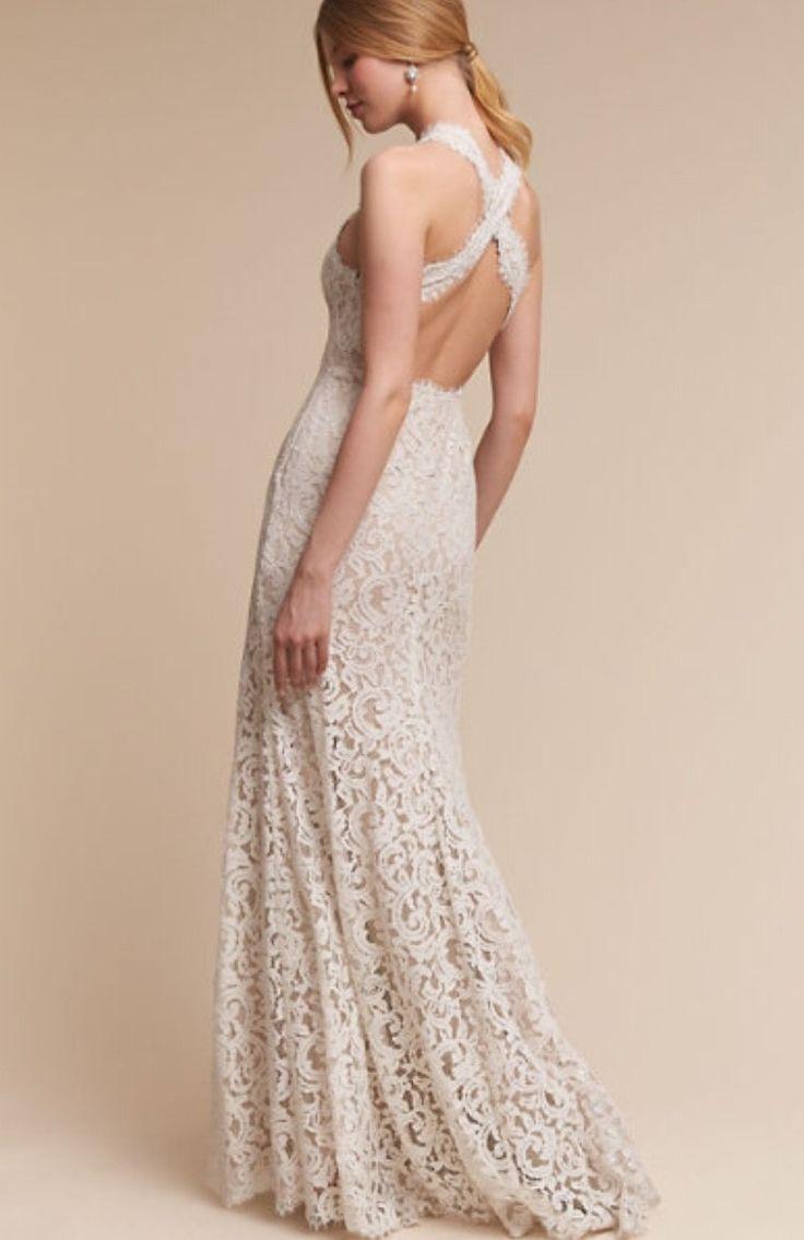 Cream colored vintage wedding dresses  BHLDN Cheyenne Wedding Dress  Wedding dresses  Pinterest  Wedding