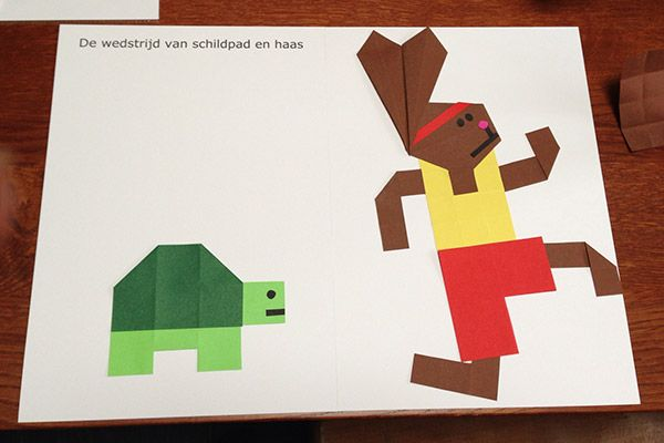 De wedstrijd van Schildpad en Haas