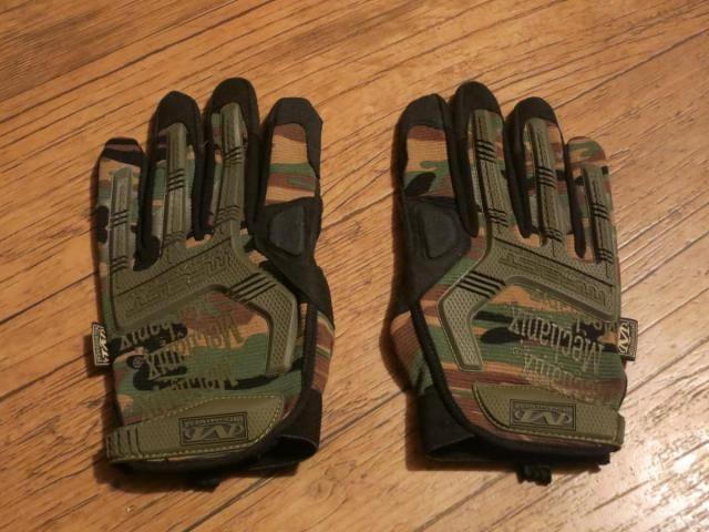 Mechanix M-Pact® Woodland Camo Glove