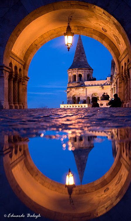Budapest, Hungary <3 (Fisherman's Bastion)