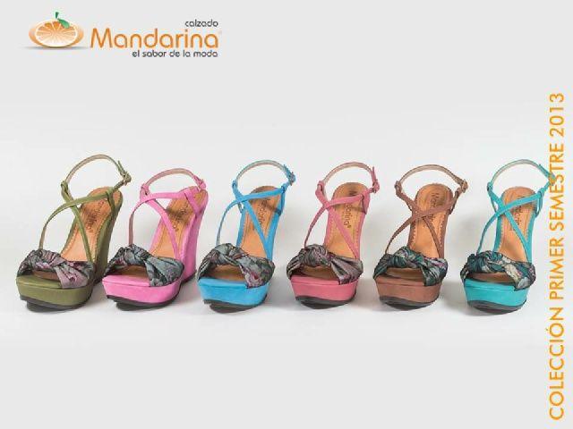 Calzado Mandarina, producción y comercialización de calzado para dama...