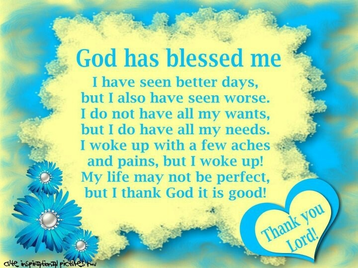 i am blessed quotes - photo #27