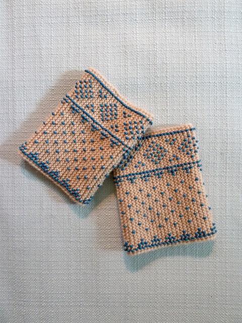 Ravelry: Bead Knit Wrist Warmers pattern by Carol Huebscher Rhoades