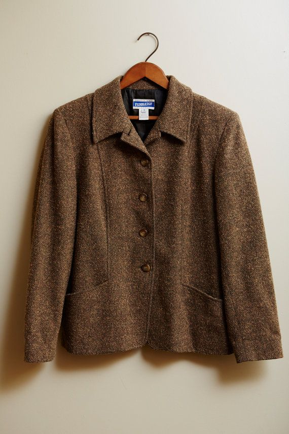 1990s Pendleton Wool Blend Blazer Jacket