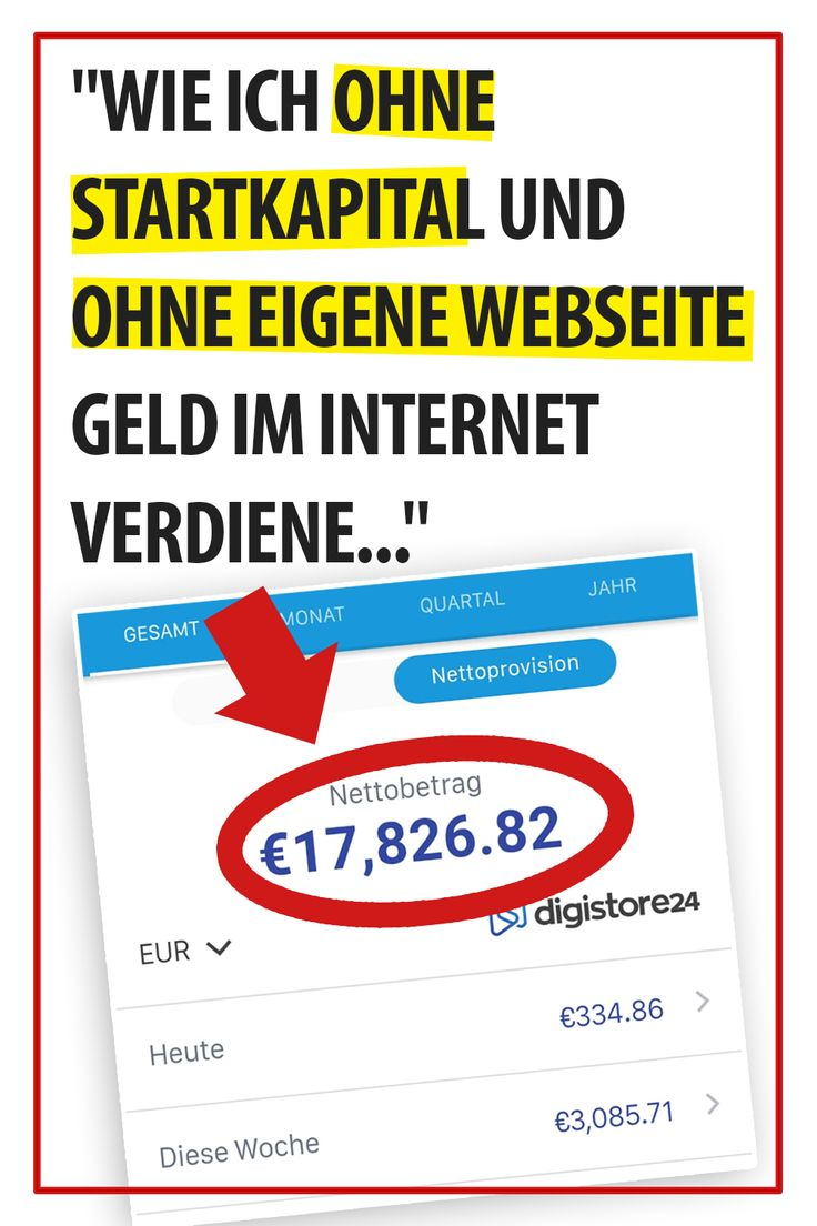 So geht's: Geld verdienen im Internet [Start, Möglichkeiten und Techniken]