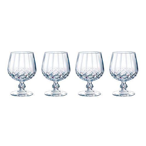 Longchamp Brandy Glasses, 10-3/4 oz. $39.99/Set of 4 at Kohls, 9/3/15