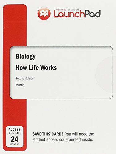 LaunchPad for Biology: How Life Works (Twenty-Four Month Access) -  http://www.wahmmo.com/launchpad-for-biology-how-life-works-twenty-four-month-access/ -  - WAHMMO