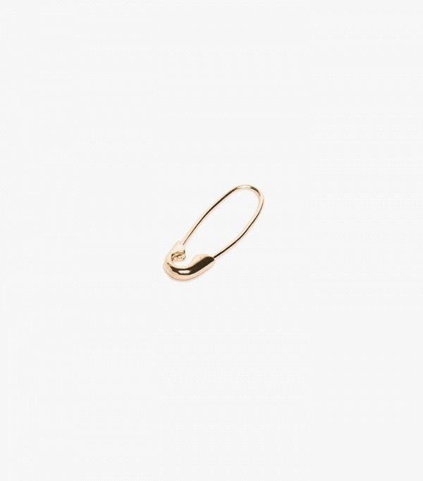 Loren Stewart Single Safety Pin Earring