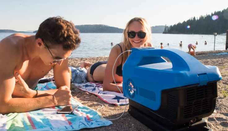 A San Francisco-based startup has launched a Kickstarter campaign for a portable air conditioner that packs more than just a rotary compressor. The Zero Breeze is designed to illuminate, play music over Bluetooth, power devices, and last up to five hours on its rechargeable battery.