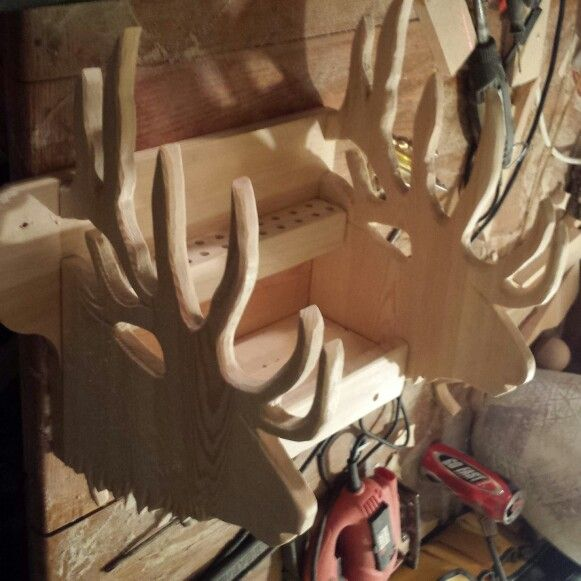 Bow rack in progress.