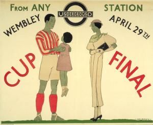 Cup Final1933. Andre Edouard Marty
