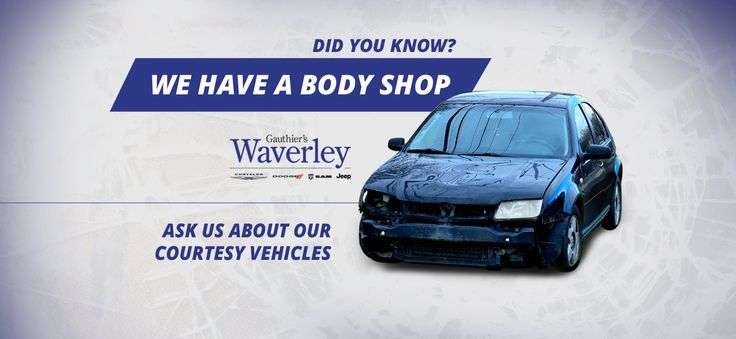 We will fix it or we will modify it, whatever you need done we can handle it!   www.waverleychrysler.ca