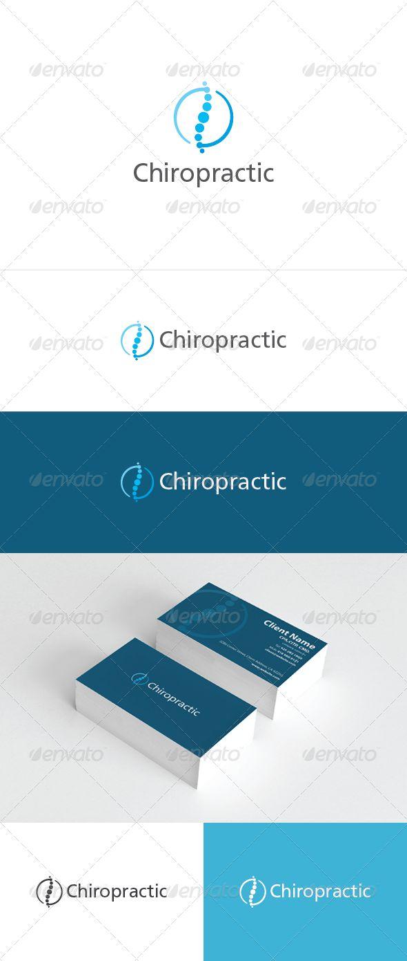 Chiropractic  Logo Design Template Vector #logotype Download it here: http://graphicriver.net/item/chiropractic-logo/3610024?s_rank=49?ref=nesto