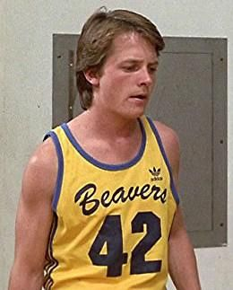 Michael J Fox as Scott Howard in Teen Wolf 80s movie