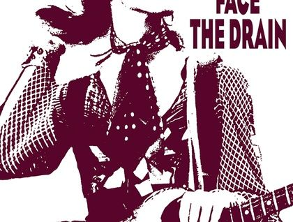 David Bowie 'D-d-d-d-dishes..Turn & Face The Drain' Hand printed Tea Towels By Plum Jam