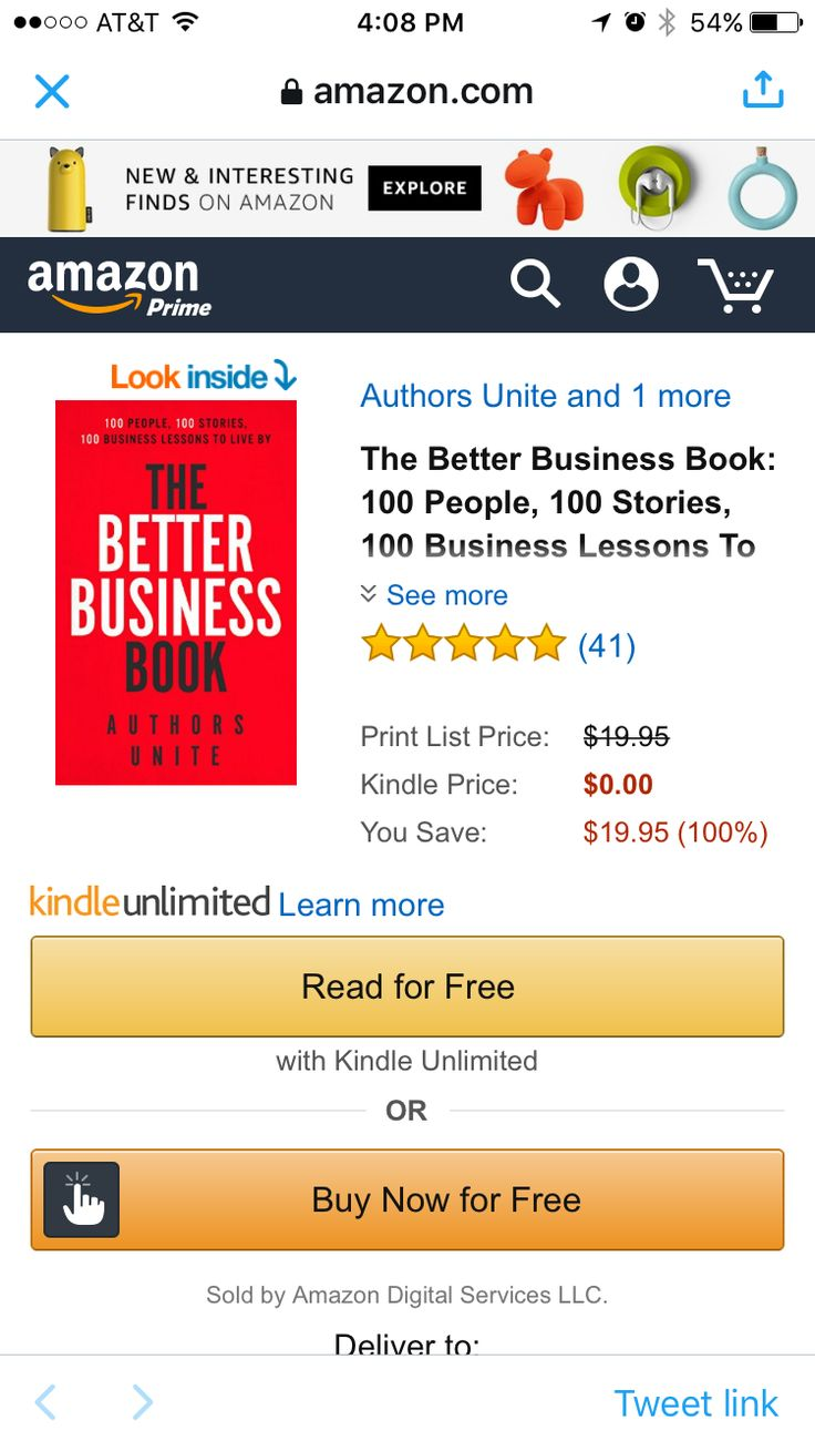 Get My New Book On Amazon For Free Today Only #3 Overall On Amazon