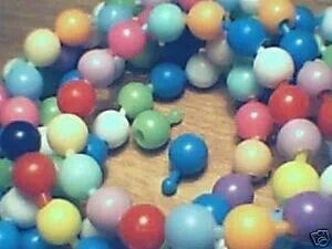Poppits - many a bracelet and necklace were made and pulled apart.