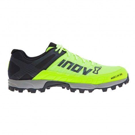 Inov-8 Mudclaw 300 000056 hardloopschoenen neon yellow black grey De Wit Schijndel