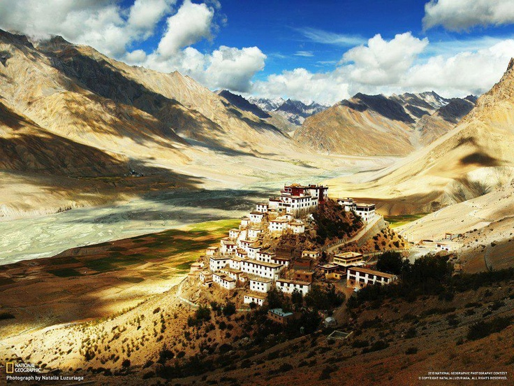 Buddhist Monastery, Himalayas.  www.iraidaestateagency.com