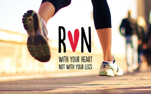 run with your heart, not with your legsFit Quotes, Remember This, Inspiration, Daily Motivation, Legs, Health, Heart Quotes, Fit Motivation, Running Motivation