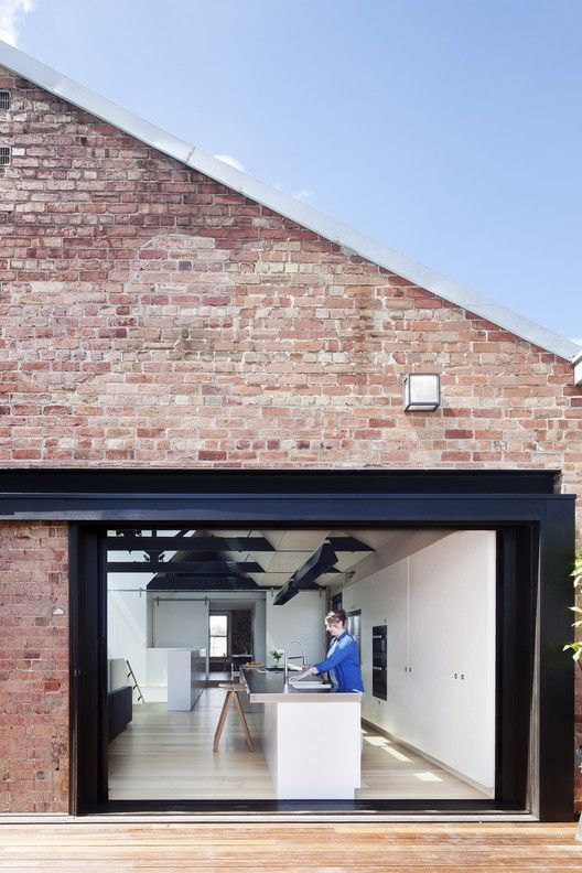 Converted Warehouse in Fitzroy,© Shannon McGrath