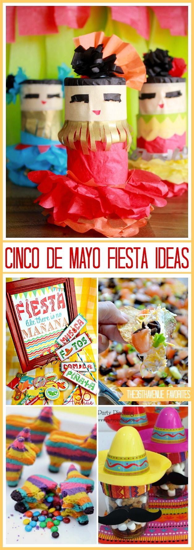 175 best images about hispanic culture kids crafts on pinterest crafts mini pinatas and - Cinco de mayo party decoration ideas ...