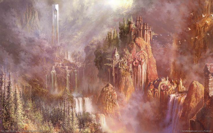 Fantasy City In The Sky | The Jester's Corner