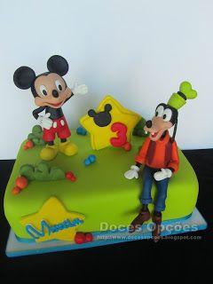 Doces Opções: O Mickey e o Pateta no 3º aniversário do Martim