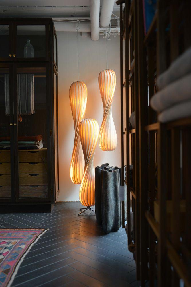 Tom Rossau / TR6  Pendant light TR7  Floor light TR7  Pendant