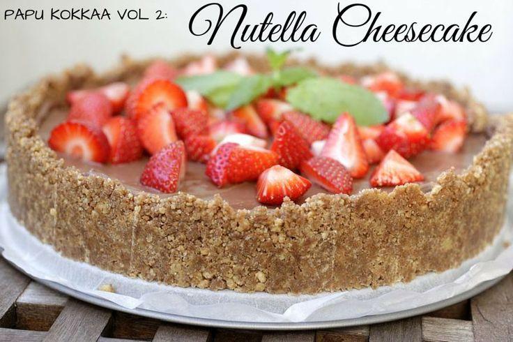 Lähiaikoina on hehkutettu kovasti Maku.fi-sivuston allajulkaistua Nutella-juustokakun ohjetta.Tuossaohjeessa on todella kauniit kuvat Nutellalla marmoroidusta kakusta, jotkanähtyäni haaveilin k…