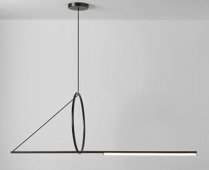 Maison & Objet 2018 : Выбор Design Mate : Подвесная лампа Cercle & Trait, Studio Pool, Франция