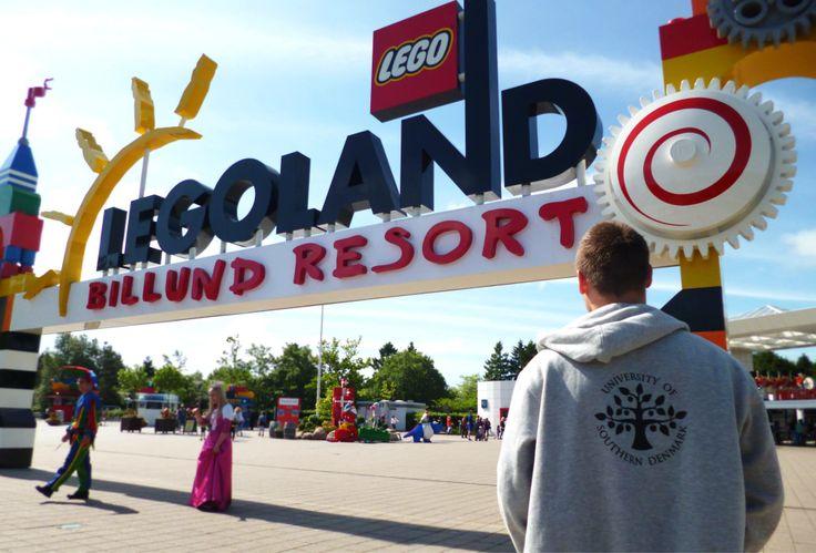 The #FamousSDUhoodie in #Legoland, #Billund, #Denmark, #University of Southern #Denmark https://www.facebook.com/unisouthdenmark