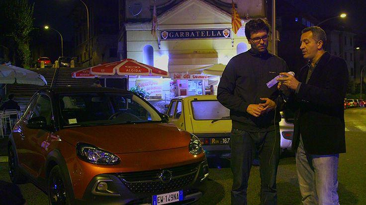 A Garbatella, sotto casa mia con l'#opeldamrocks #alvolante #opel #gabrielemazzucco #garbatella #notte #luci